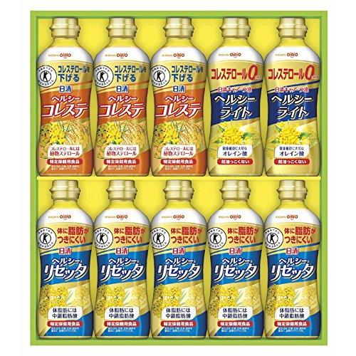 日清オイリオ 油オイルギフト 日清トクホオイル&ヘルシーライトギフト BP-50