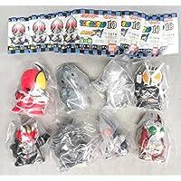 HG 仮面ライダー ソフビコレクション P10 全8種セット 指人形