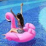 ピンク フラミンゴ 浮き輪 特大プールフロートフラミンゴインフレータブルラフト フロート(小さなフラミンゴ )