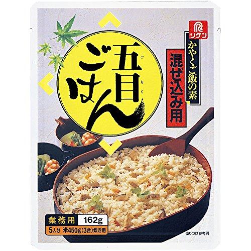リケン かやくご飯の素 混ぜ込み用 五目ごはん 162g