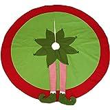 The Christmas Cart Personalised gifts & Keepsakes Elf Legs Tree Skirts   Elf Legs   Fun   Tree Base   Christmas Floor Coverin