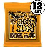 【正規品】 ERNIE BALL ギター弦 ハイブリッド (09-46) 12セット 2222 HYBRID SLINKY 12SET