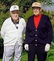 Bob Hope andロナルド・レーガンゴルフ8x 10フォト