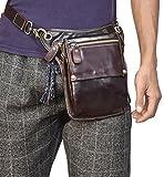 レーグバッグ 本革 3way ホルスターバッグ メンズ レザー レッグポーチ アウトドア ショルダーバッグ 携帯 財布など収納