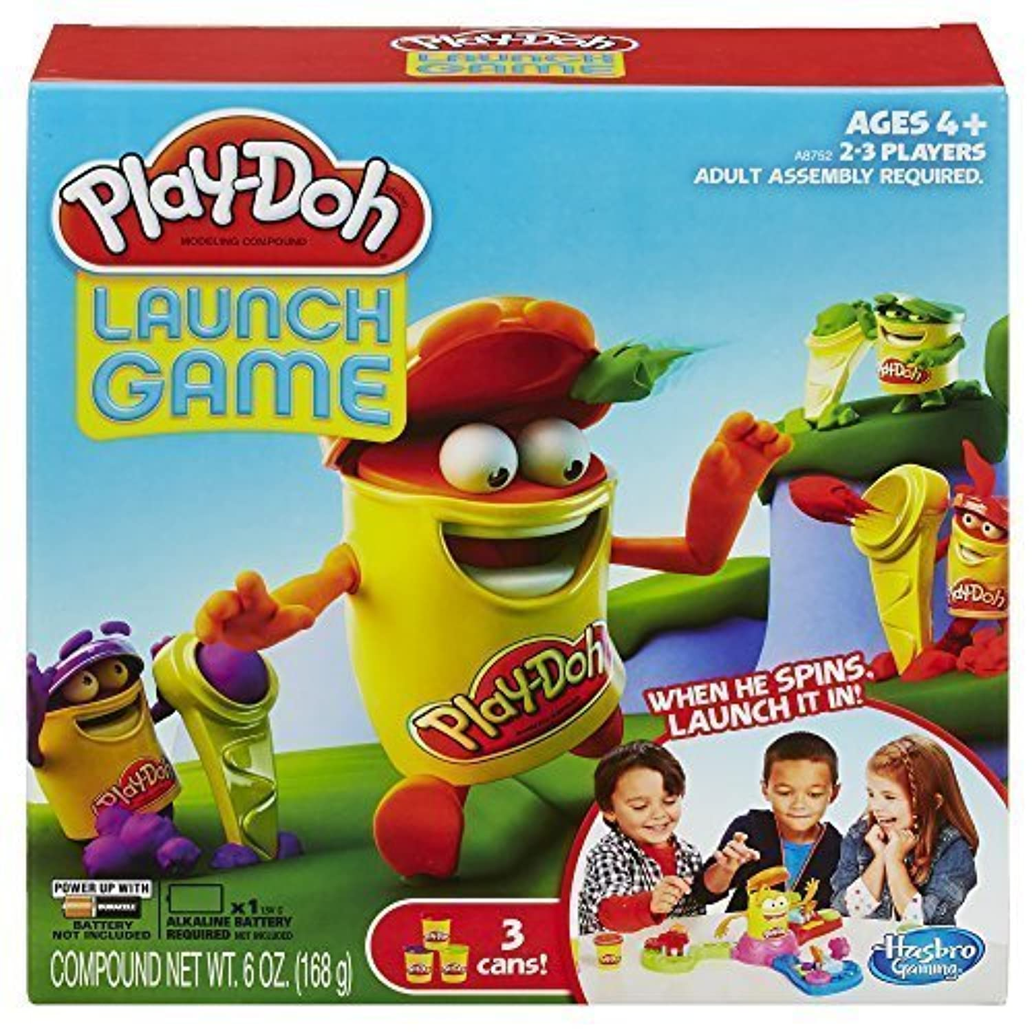 Play-Doh Launch Game by Hasbro [並行輸入品]