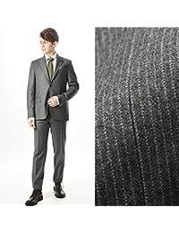LARDINI (ラルディーニ) スーツ シングル 段返り3つボタン ピンストライプ/ウール 100%【2017-2018秋冬】【メンズ】【並行輸入品】
