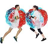 SUNSHINE-MALL Bubble Balls for Kids,Inflatable Buddy Bumper Balls Sumo Game Kids Soccer Ball Giant Human Hamster Knocker Ball