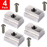 LE KAPMOZ T Slot Nuts for Toyota Tacoma Bed Rails Cleats Bed Rack Rail Accessories for Tunda Pickup Truck Deck Bike Mount W/S