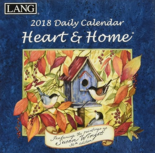Heart & Home 2018 Calendar (Box)