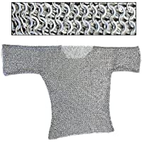re-enactmentアルミHaubergeon Chainmail Large