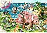 ねこの引出し 琴坂映理ポストカード「桜の咲く猫の島」