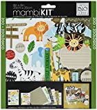 me & my BIG ideas Scrapbook Page Kit, Zoo, 8-Inch by 8-Inch by Me & My Big Ideas