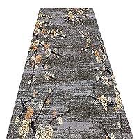 廊下じきカーペット ラグ 洗える トルコ 養生保護マット のために 廊下用 カスタムサイズ (Size : 90×100cm)