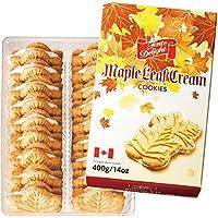 カナダ 土産 カナダ メープルクリームクッキー 1箱 (海外旅行 カナダ お土産)