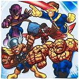 Marvel Super Hero Squad Lunch Napkins (16 count) マーヴルスーパーヒーロースクワッドランチナプキン(16カウント)?ハロウィン?クリスマス?