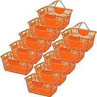 アイリスオーヤマ フリーバスケット 10個セット FRBA-33 オレンジ