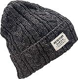 Burton(バートン) スノーボード ニット帽 ビーニー ニットキャップ ZOWIE BEANIE 1SZ FITALL True Black 176521 日本製