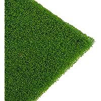 【ノーブランド品】 2PCS 草 マット 芝生 モデル 鉄道風景 マイクロ 風景 ミニチュア 装飾 アクセサリー 全8色 - ライトグリーン