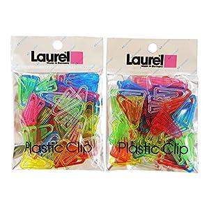 Laurel プラスチッククリップ A-LC02×2P 60個入 2袋セット