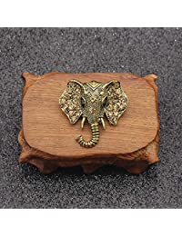 FYDT Retro Elephant Brooch Animal Corsage Scarf Decoration for Women's Gift
