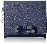 [ジルスチュアート] 札入 【シャイニング】 二つ折財布 JSLW6AS1 30 ネイビー