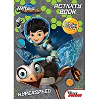 Disney Junior Miles from Tomorrowland Hyperspeed Coloring and Activity Book - Includes Stickers [並行輸入品]