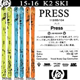 K2(ケーツー) スキー 板 2016 PRESS プレス スキー単品 15-16 パークスキー フリースタイルスキー 板  159cm