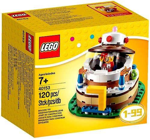 LEGO Birthday Decoration Cake Set