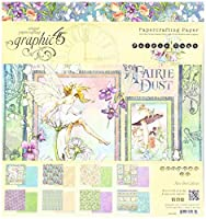 Graphic 45 Fairie Dust 8x8 Paper Pad [並行輸入品]
