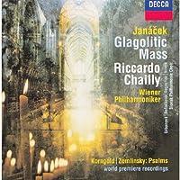 Janacek: Glagolitic Mass / Zemlinsky: Psalm 83 / Korngold: Passover Psalm,Op.30