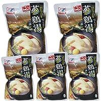 韓国宮廷料理・参鶏湯(サムゲタン)1kg×5個 ■韓国食品■韓国加工食品■ファイン■レトルト■サムゲタン■韓国美味しいサムゲタン■