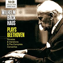 Wilhelm Backhaus Plays Beethoven