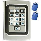 Supreform IP68 Waterproof Universal 12V 24VDC Metal Case Digital Wired Keypad for Garage Door, Gate Opener and Access Control