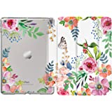 """MoKo Case Fit New iPad 8th Generation 10.2"""" 2020/iPad 7th Gen 2019, iPad 10.2 Case with Stand, Soft TPU Translucent Frosted B"""
