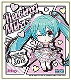 初音ミク GTプロジェクト レーシングミク 2019Ver. ねんどろいどぷらす ミニ色紙 2