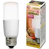アイリスオーヤマ LED電球 口金直径26mm E26 T形 全方向タイプ 60W形相当 電球色 LDT7L-G/W-6V1 1)単品