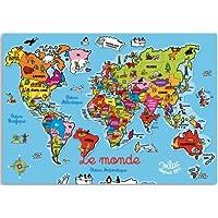 VILAC マグネットパズル 世界地図
