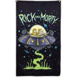 """Rick and Morty Indoor Wall Banner (30"""" by 50"""") (Space Cruiser)"""