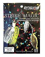 エンジン(ENGINE) ルアー ストライクマジック1/4DW #02ホワイト・チャート