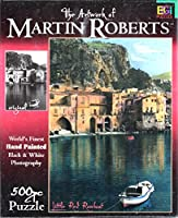 LITTLE RED ROWBOAT 500 PIECE JIGSAW PUZZLE FROM MARTIN ROBERTS