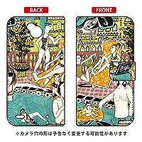 SECOND SKIN 手帳型スマートフォンケース 若林夏 「pool」 / for Disney Mobile on docomo DM-02H/docomo DLGD2H-IJTC-401-LJ68