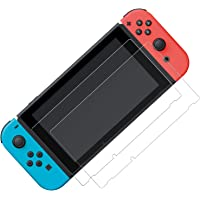 Nintendo Switch用 ガラスフィルム 強化ガラス 保護フィルム 【ブルーライトカット】 日本「旭硝子」素材製…