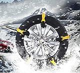 メイキンサワ タイヤチェーン 非金属通用タイプ 自動車タイヤ滑り止めチェーン 雪道/凍結/砂道/悪路 滑り止めチェーン 簡易型 10本入 取り付けカンタン