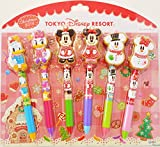【東京ディズニーリゾート限定 】ディズニークリスマス ボールペンセット 2014