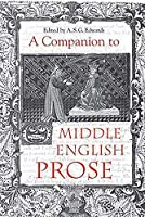 A Companion to Middle English Prose