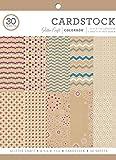 ColorBok 73472A カードストック ペーパーパッド クラフトグリッター 8.5インチ x 11インチ