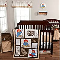 Trend Lab 3 Piece Paddington Bear Crib Bedding Set by Trend Lab