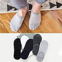 RICOCO 靴下 メンズソックス メッシュ ビジネスソックス くるぶし 滑り止め付き 抗菌 防臭 吸汗 通気性抜群 四季適用 2-5足組 24-28㎝