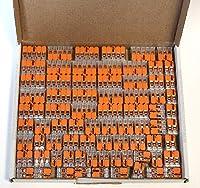 Wago 221クリップセット25 x 221-412、221-413 221-415ケーブルコネクタ - 封筒 - オリジナルWAGO