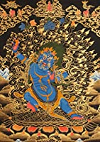 Two-Armed Mahakala-Tibetan Buddhist Deity - Tibetan Thangka Painting